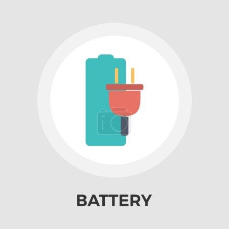 电池平面图标