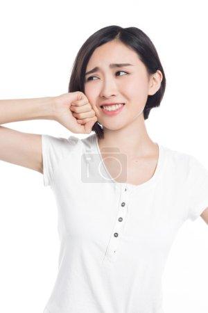 中国女人的面部表情