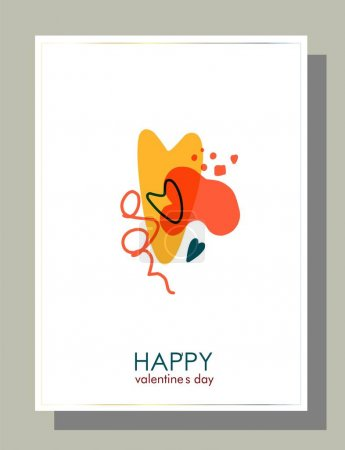 Beautiful banner for concept design. Abstract love symbol. Abstract finance background. Celebration vector background.