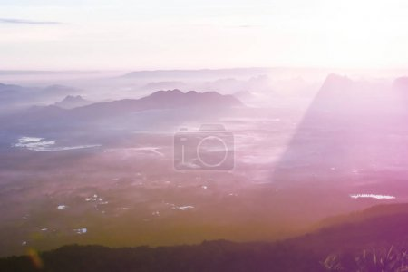 Loei Province Thailand Phu Kradueng National Park. Is one of the attractions of the most famous of Thailand. Each year there are tens of thousands of people come to the average person, especially during the long weekend many tourists often have to re