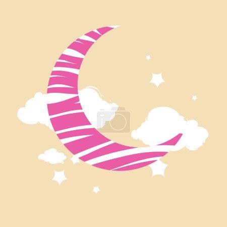 白云和星星月亮